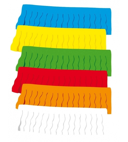 Paper fringes 50 m. garland in a bag