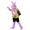 Rabbit powered by batteries adult costume