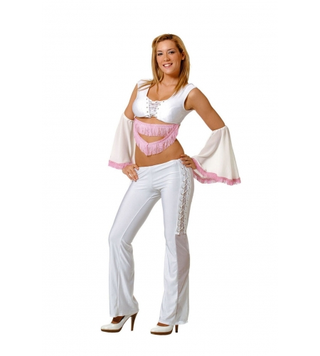 Abba adult costume 2