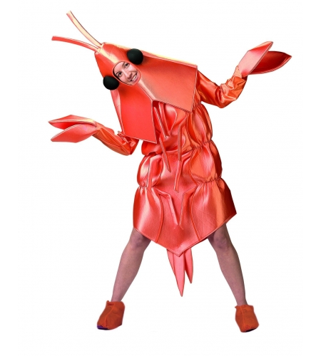 Prawn adult costume