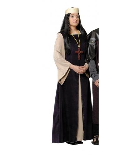 Fato de senhora medieval mulher