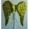 Angel golden pvc wings