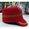 Majorette felt hat