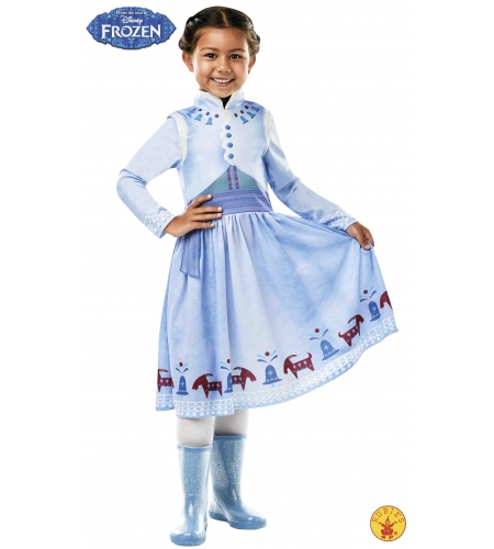 Anna costume from classic frozen adventures, child - Your Online