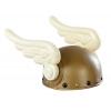 Casco vikingo con alas