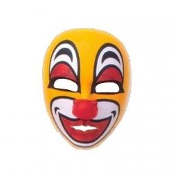 Máscara de palhaço em borracha
