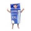 Fato caixa de preservativos