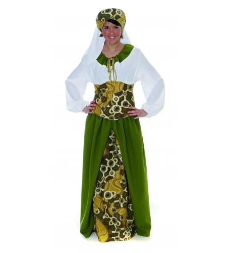 Kurtisane damen kostüm