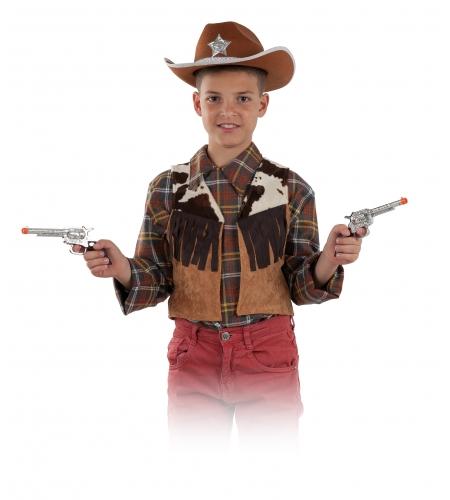Chaleco infantil vaquero