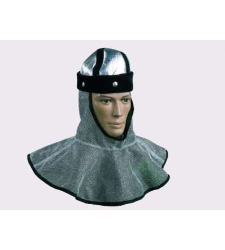 Padded cloth coif adult