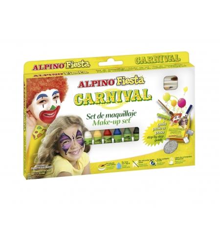 Set carnival 6 unids. colores surtidos