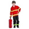 Feuerwehrmann kinderkostüm