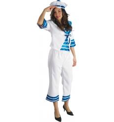Sailor woman import costume