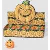 Pumpkin halloween horror candle 10 cm