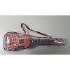 """Guitare espagnole en un plastique qu""""il imite au bois"""