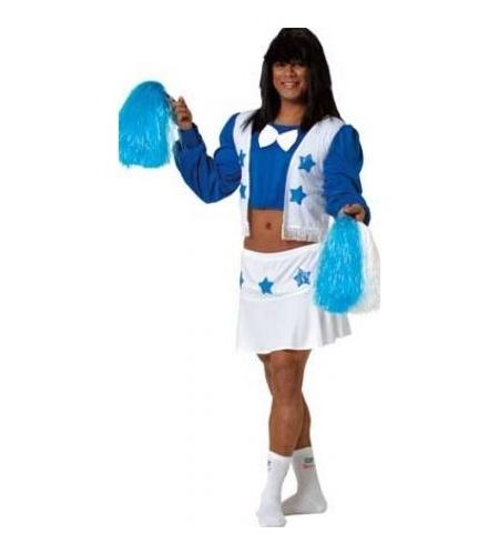 Cheerleader man costume