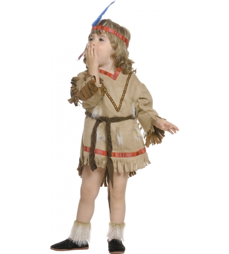 Indian comanche infant girl costume