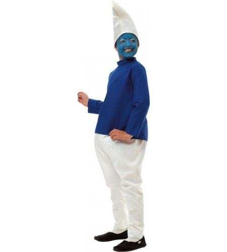 Smurf kids costume