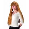 Perruque chevelure longue et raide avec frange